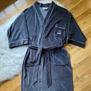 Vintage Christian Dior Monsieur Velour Robe